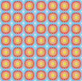 Seamless pattern made from colorful mosaic tile Stock Photography