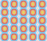 Seamless pattern made from colorful mosaic tile Royalty Free Stock Photography