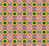 Seamless pattern made from colorful mosaic tile Stock Images