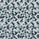 Seamless pattern made of colorful squares in shades of blue and. Seamless pattern made of colorful squares rotated by 90 degrees, endless mosaic texture made of stock illustration