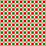 Seamless pattern made of colorful squres in festive christmas co. Seamless pattern made of colorful squares - orange, green and red squares on white background Royalty Free Stock Photography