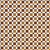 Seamless pattern made of colorful squres - shades of brown   Royalty Free Stock Image