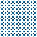 Seamless pattern made or dark blue polka dots and blue dark and Royalty Free Stock Photos