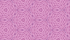 Seamless pattern made from flowers. Seamless pattern made from graphic flowers Stock Images