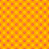 Seamless happy and colorful floral pattern Stock Photography