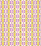 Seamless pattern made from pink and yellow broken tile Royalty Free Stock Photography