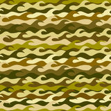 Seamless pattern made from sea waves. Seamless pattern made from khaki sea waves Royalty Free Stock Images