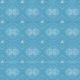 Seamless pattern of magnetic field Stock Photos