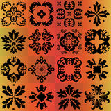 Seamless pattern majolica, arabic, indian, armenia. stock  Stock Photography