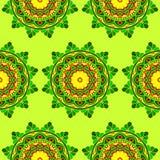 Seamless pattern mandala background royalty free stock images