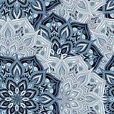 Seamless pattern mandala Royalty Free Stock Photography