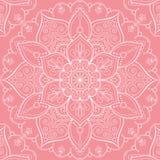 Mandala seamless pattern Stock Image