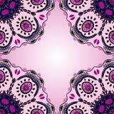 Seamless pattern with Mandalas. Royalty Free Stock Photos