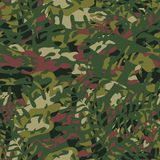 Seamless pattern of masking camo colors for clothes, uniforms. Vector. Royalty Free Stock Images