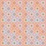 Seamless pattern in Maya style Royalty Free Stock Photo