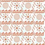 Seamless pattern in Maya style Royalty Free Stock Photography