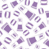 Seamless pattern of medical elements Royalty Free Stock Photos
