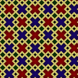 Seamless pattern, medieval stained-glass window style Royalty Free Stock Photography