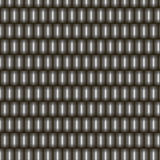 Seamless pattern metal rectangular scales. Glossy iron parts of metal armour Royalty Free Stock Images