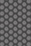 Seamless pattern metal round scales. Iron parts of metal armour Royalty Free Stock Image