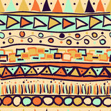 Seamless pattern in the Mexican Royalty Free Stock Image