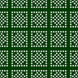 Seamless pattern. Modern stylish texture. Dots in rectangles. Repeating geometric tiles. Stock Photo