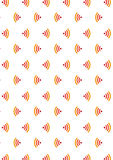 Seamless  pattern. Modern stylish texture. Free Wi-Fi icon Stock Photography