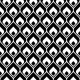 Seamless pattern. Modern stylish texture. Repeating abstract background Stock Photography