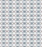 Seamless pattern. Modern texture with periodic repeating of intersecting and interwoven fine lines and rhombuses Stock Photography