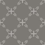 Seamless pattern mono line art style Stock Image
