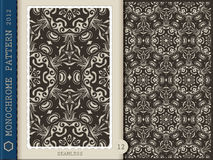 Seamless Pattern-monochrome 12 Royalty Free Stock Photos