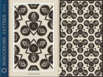 Seamless Pattern-monochrome 2 Royalty Free Stock Photo