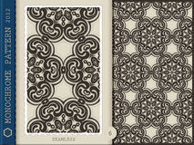 Seamless Pattern-monochrome 6 Stock Photos