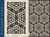 Seamless Pattern-monochrome 8 Stock Photos