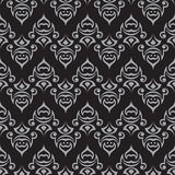 Seamless pattern. Monochrome texture Stock Photography