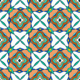Seamless pattern of Moroccan mosaic Stock Photos