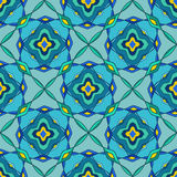 Seamless pattern of Moroccan mosaic Royalty Free Stock Photo