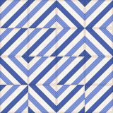 Seamless  pattern . Moroccan tiles, ornaments of blue stripes. Stock Images
