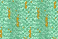 Seamless pattern, mosaic, ears stock illustration
