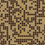 Seamless pattern with mosaic effect.  Stock Images