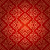 Seamless pattern in mosaic ethnic style. Stock Photo