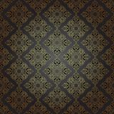 Seamless pattern in mosaic ethnic style. Royalty Free Stock Photos