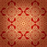 Seamless Pattern in Mosaic Ethnic Style. Royalty Free Stock Images