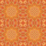 Seamless pattern, mosaic of fabric Royalty Free Stock Photography