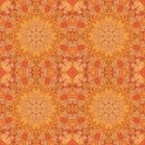 Seamless pattern, mosaic of fabric Royalty Free Stock Photography
