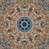 Seamless pattern, mosaic of fabric Royalty Free Stock Photo