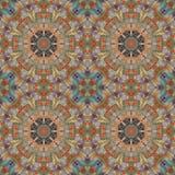 Seamless pattern, mosaic of fabric Stock Photo