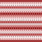 Seamless pattern mosaic, jacquard Royalty Free Stock Photography