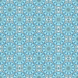 Seamless pattern of mosaic. Seamless pattern of turquoise Moroccan mosaic Royalty Free Stock Photo