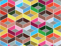 Seamless pattern. Mult coloured seamless geometric abstract pattern Stock Images